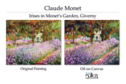 Impressionist art reproduction.