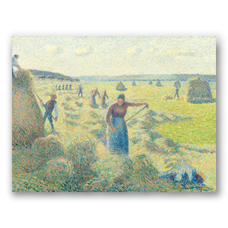 Hay Harvest at Eragny