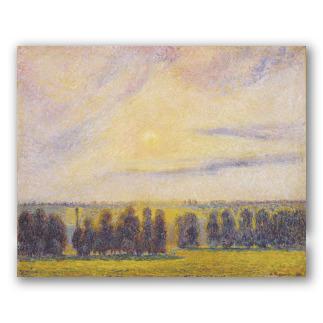 Sunset at Eragny